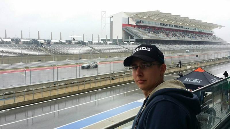 Mazda Motorsports Anthony Travalent