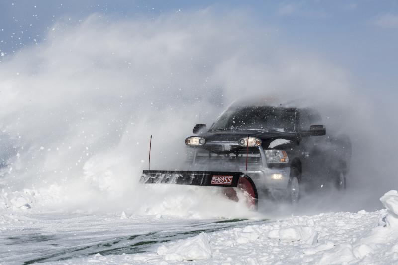 2015 Ram 2500 Snow Plowing Tips