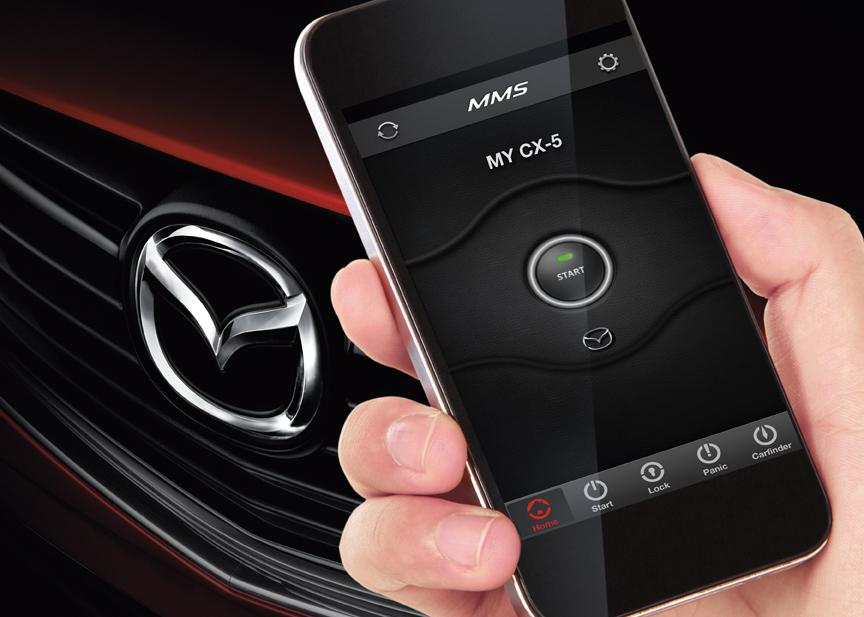 Mazda Mobile Start To Enhance Ownership!