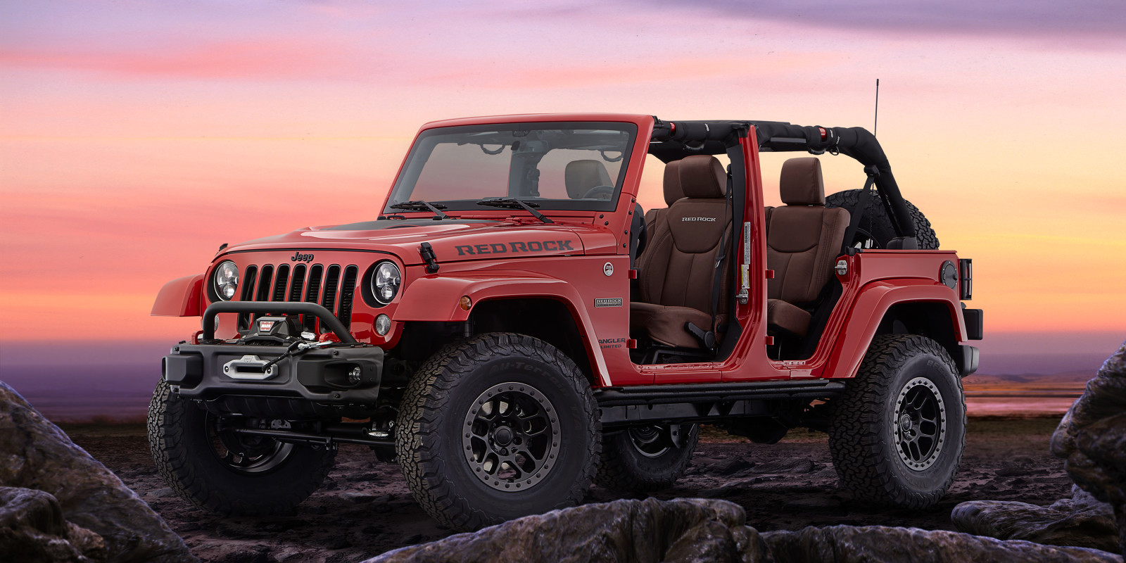 MOPAR Reveals Jeep Wrangler Red Rock Concept At SEMA