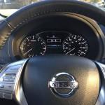 2016 Nissan Altima SV gauge pod