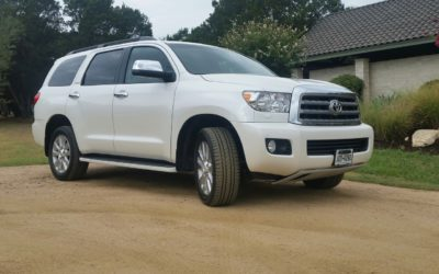 2017 Toyota Sequoia Platinum 4×4 – a right choice for a challenging situation