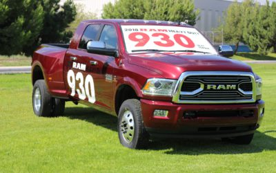 2018 RAM 3500 tops the charts!