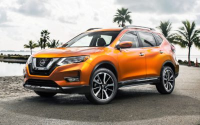 2017 Nissan Rogue – ideal for empty nesters!