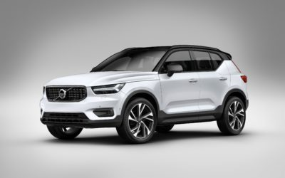 Volvo rolls out the new XC40 in 2018!