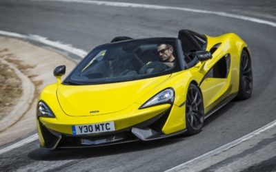 McLaren and US Toy maker 'Step2' create a 570S Spider for kids