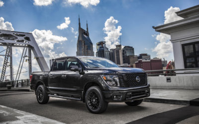 New Nissan Midnight Edition Trucks roll out at the Texas State Fair!