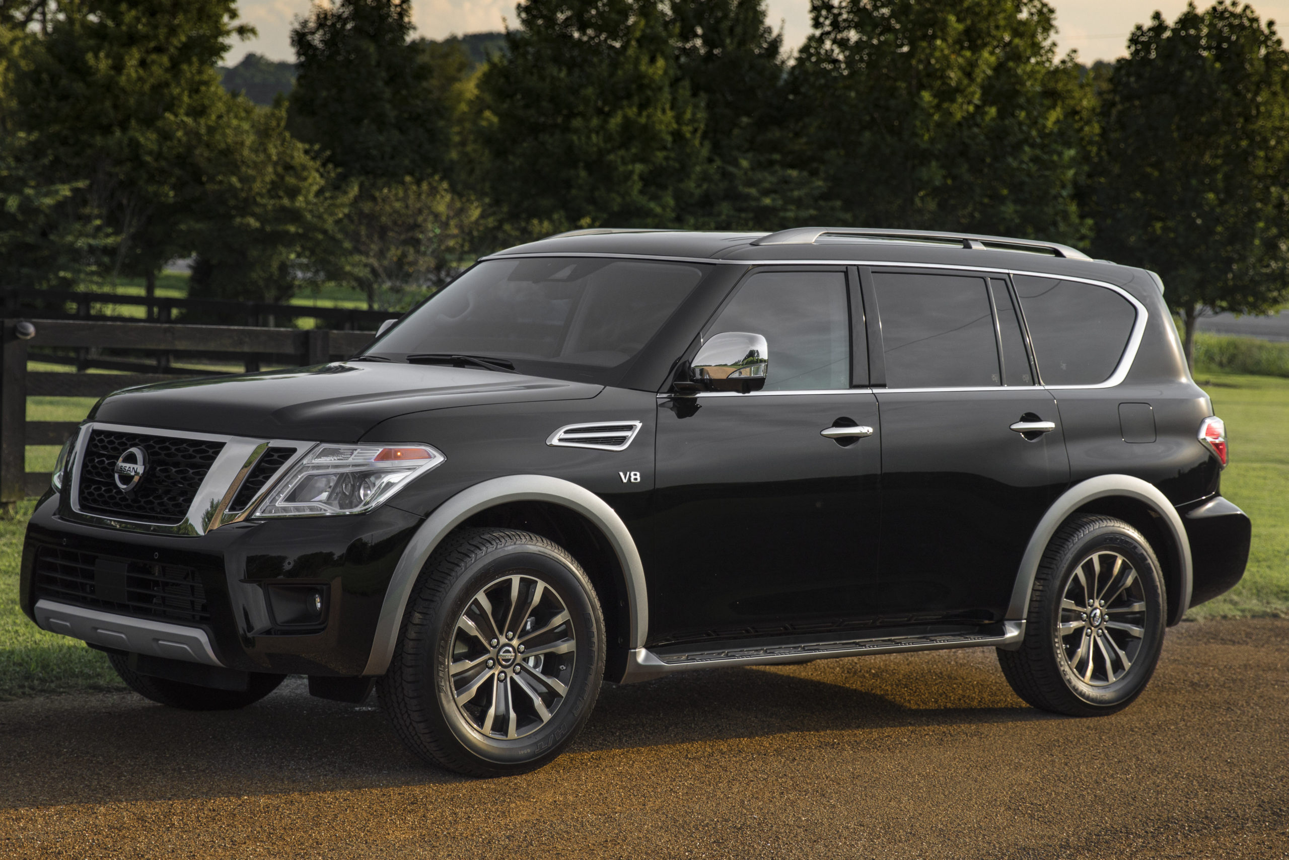 nissan reviews long prevnext of armada term with platinum tent reserve truck report