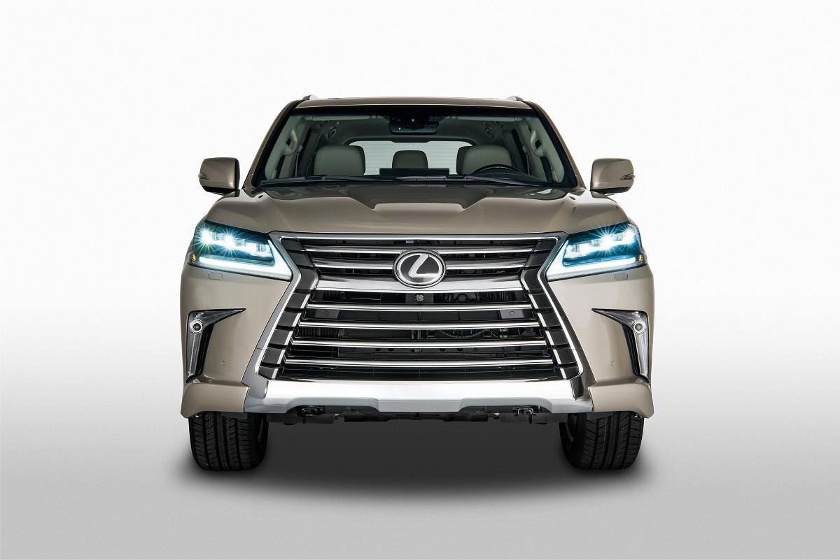 Lexus Introduces A Surprising New Trim Level For The Lx 570 Suv
