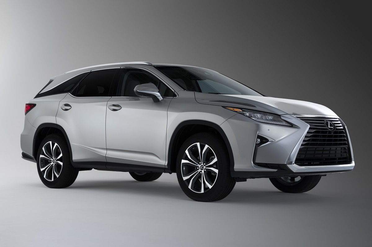 Lexus RX 350 SUV adds third row option for 2018! | In Wheel Time