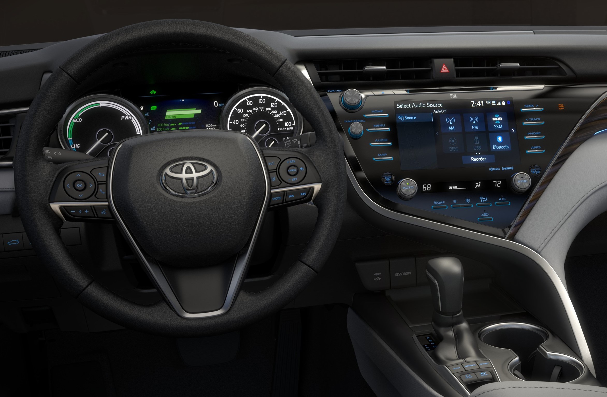 2018 Camry Hybrid Se Ride Drive In Wheel Time