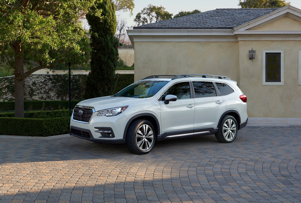 Subaru is stepping out and up with the new Ascent three-row