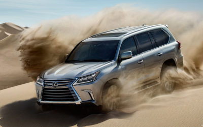 Lexus introduces a surprising new trim level for the LX 570 SUV !