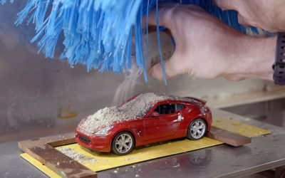 Car wash, work'n at the car wash….