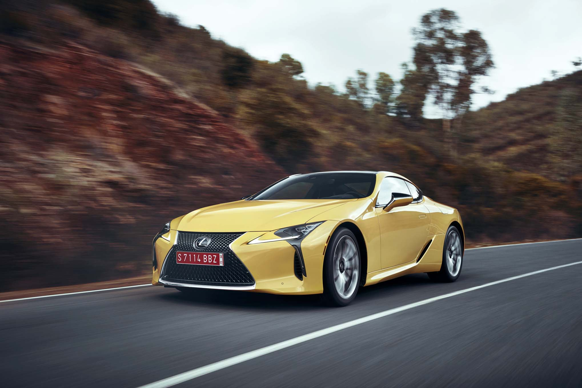 Lexus Delivers Flagship Performance In The 2018 Lc 500 In Wheel Time
