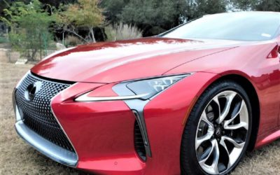 Lexus delivers flagship performance in the 2018 LC 500