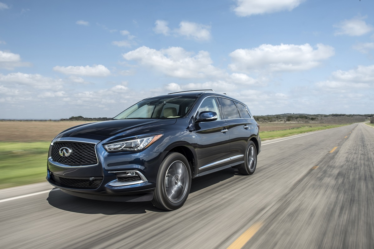 2018 Infiniti Qx60 3 Row Suv A Family Adventure Package