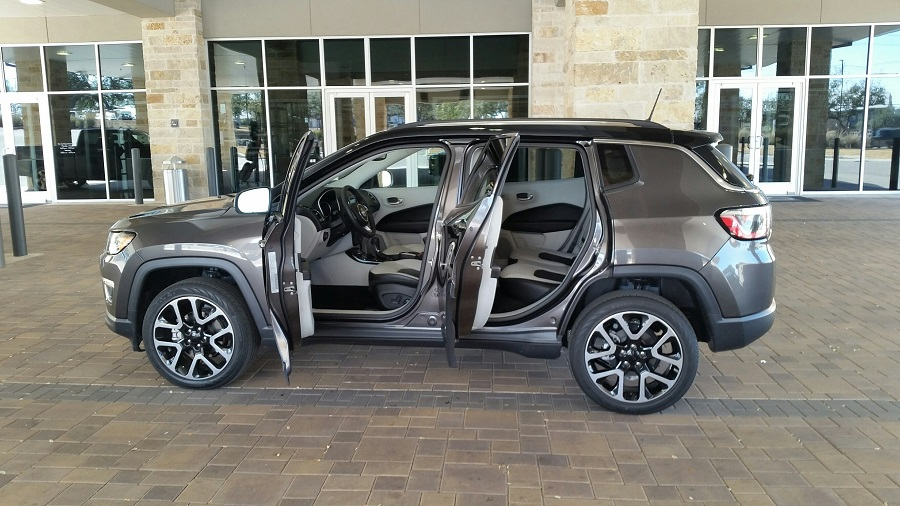 2018 Jeep Compass Limited 4x4 Ride Drive In Wheel Time
