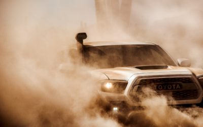 Toyota introduces next gen TRD Pro series trucks at Chicago Auto Show!