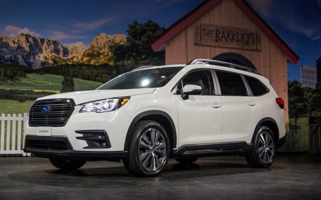 Subaru Ascent SUV due summer '18