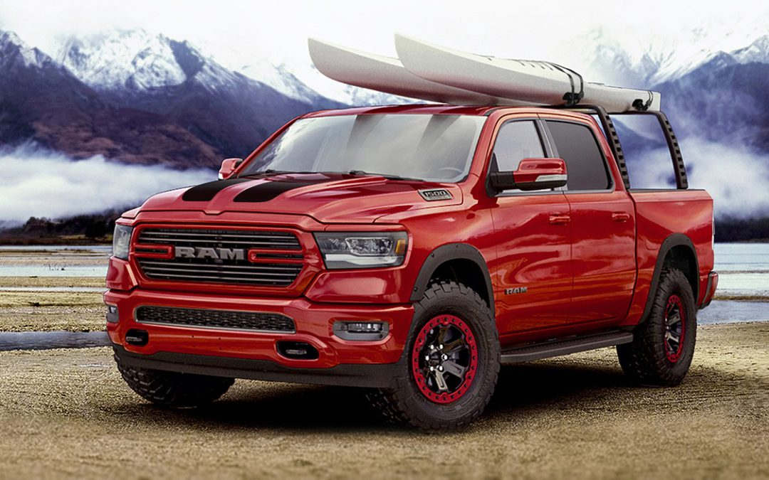 Ram and Mopar debut custom accessory lineup for 2019 Ram 1500 at Chicago Auto Show!