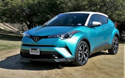 2018 Toyota C-HR – crossover or coupe – different is very good!