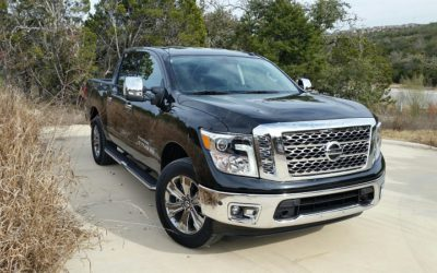 2018 Nissan Titan V8 4×4 Crew Cab Texas Edition makes the grade in Hill Country