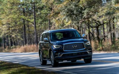 2018 Infiniti QX80 4WD – comfort, luxury and performance wherever you need to be