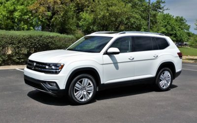 VW rolls into mid-size SUV segment with US built Atlas for active families
