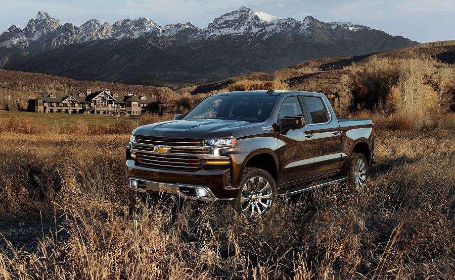 The all-new 2019 Silverado High Country