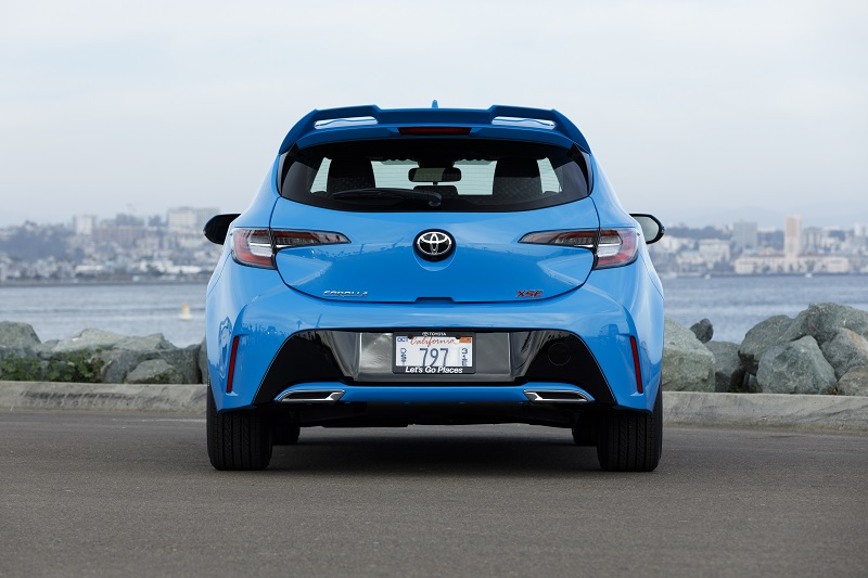 All new - the 2019 Toyota Corolla Hatchback should get your