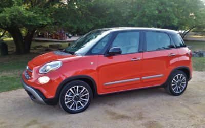 Fiat 500L Trekking: Quirky and perky?