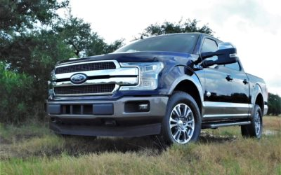 Standing tall in a Texas driveway and anywhere else too – Ford F-150 King Ranch Edition