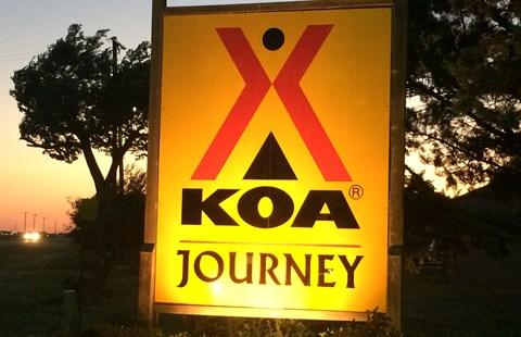 KOA – A Texas 'Adventure'