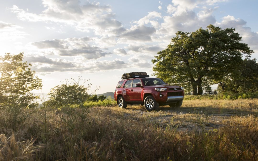 Run'n in the Toyota 4Runner!