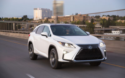 Go'n for three with the 2018 Lexus RX 350L