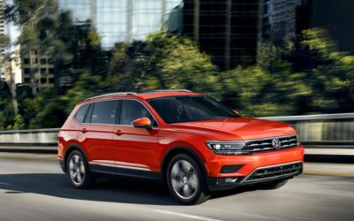The new Tiguan grows up…