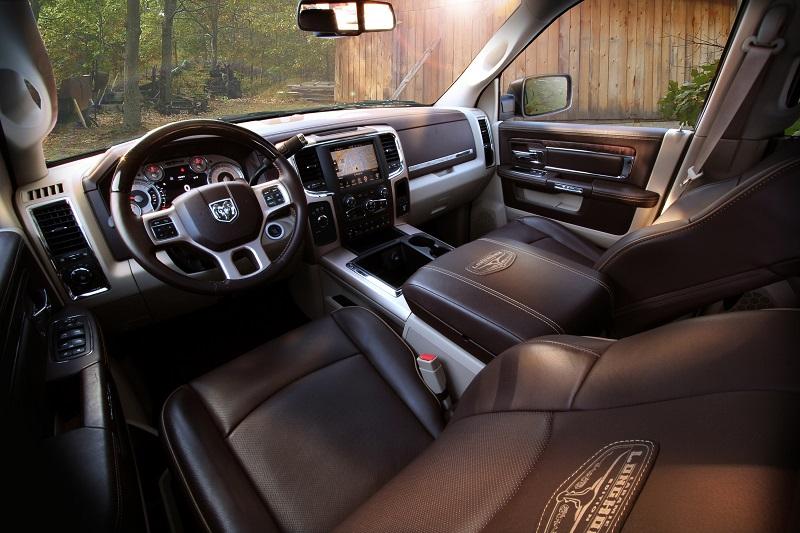"2018 Ram Heavy Duty 2500/3500 Laramie Longhorn ""Ram Rodeo"" Edition interior"