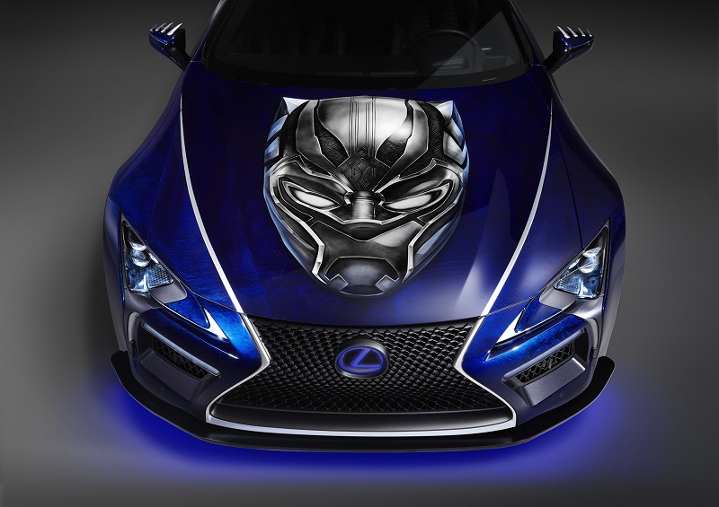 Black Panther Inspired LC Car