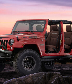 Jeep Wrangler Red Rock Concept at SEMA
