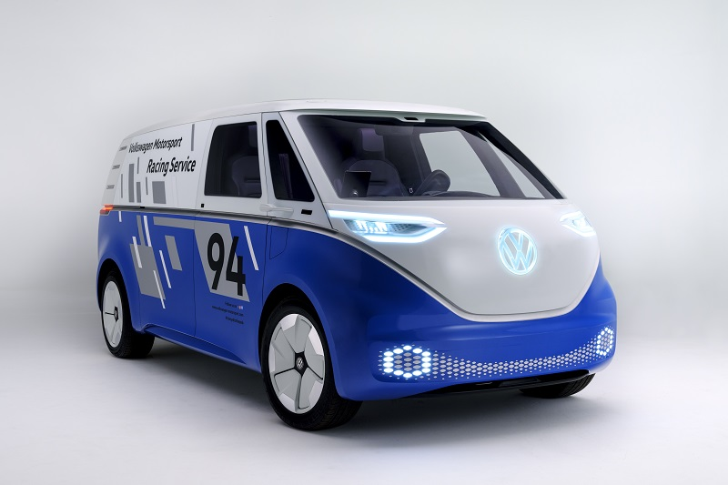 VW I.D. Buzz Cargo concept and Cargo e-Bike could make future last-mile delivery easy