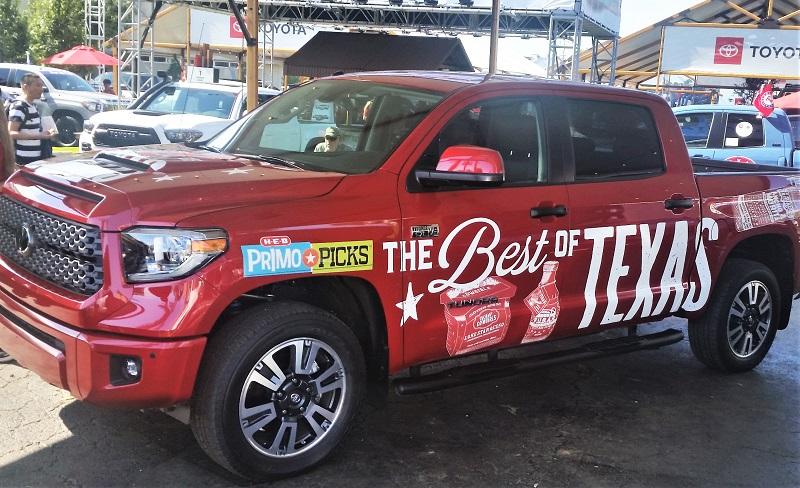 Toyota Tundra, H-E-B and empanadas – it's a Texas thing
