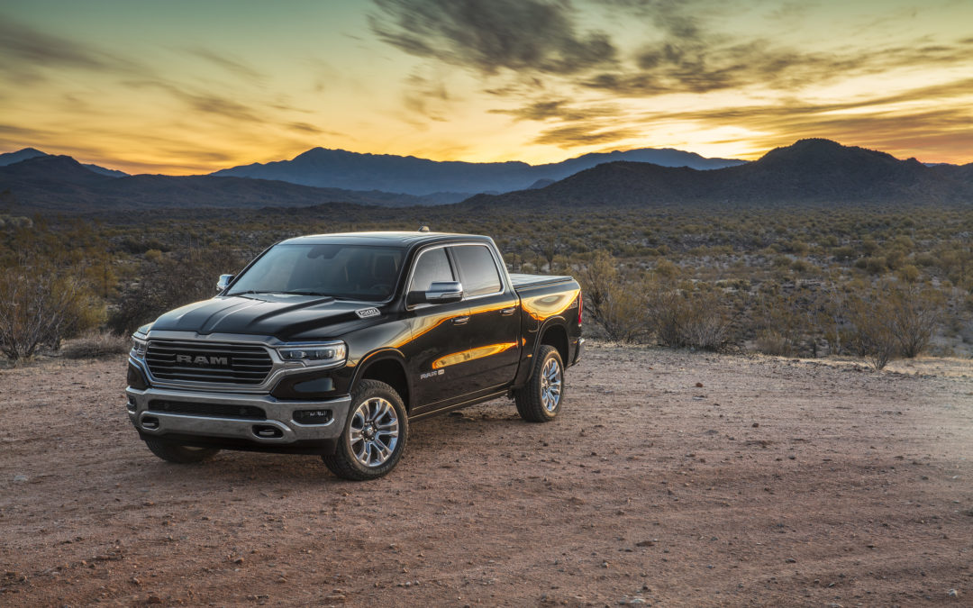 2019 Ram 1500 Awarded Truck of Texas Title