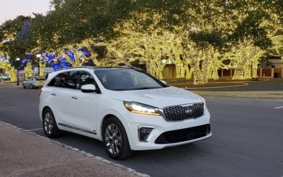 2019 Kia Sorento SUV upgrades for all trim levels