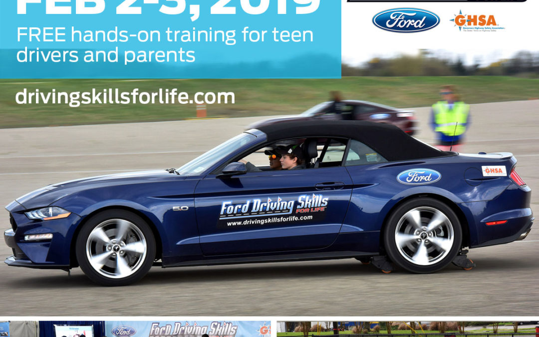 Ford Teen Driving skills…hands-on learning!