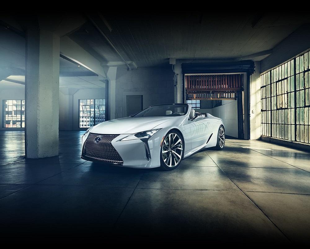 2019 Lexus concept convertible