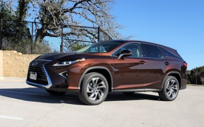 2019 Lexus RX 350L AWD offers up to 7-passenger seating
