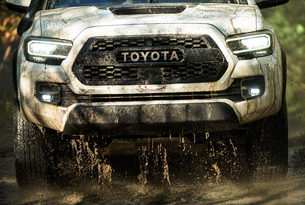 Toyota says 'catch us if you can' with the 2020 Tacoma!