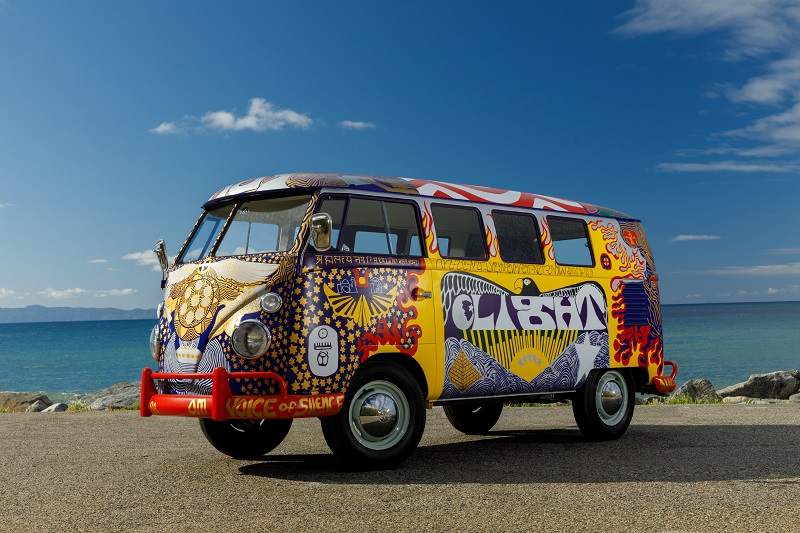 'Summer of Love' Woodstock VW 'Light' bus lives again!
