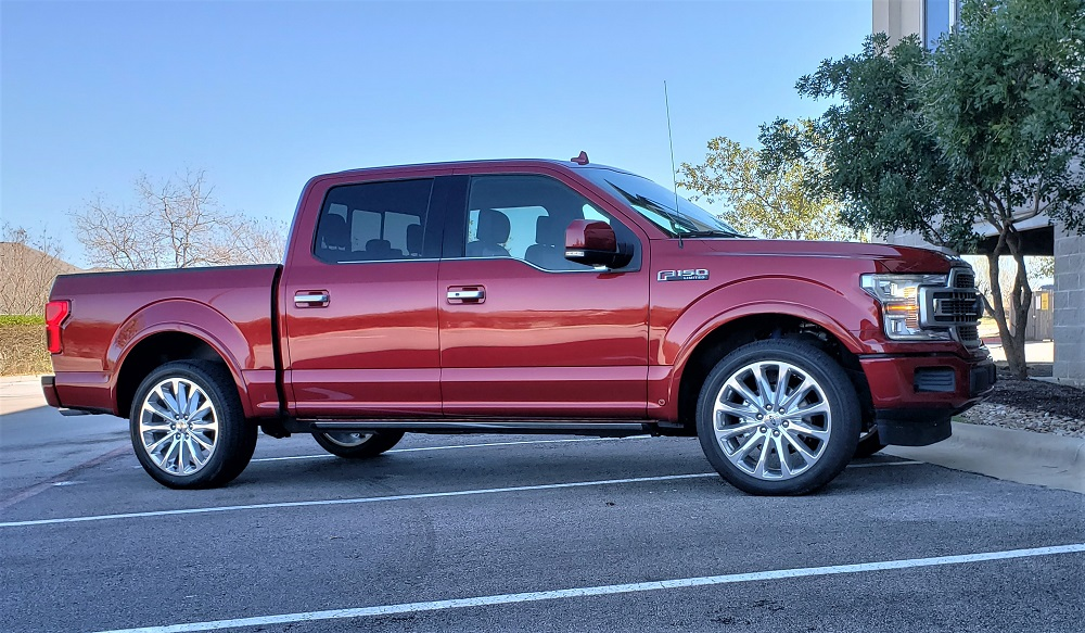 Top Shelf With A Slice Of Attitude The 2019 Ford F 150 Limited In Wheel Time